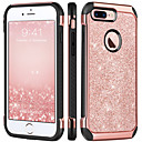 billige iPhone-etuier-BENTOBEN Etui Til Apple iPhone 8 Plus / iPhone 7 Plus Støtsikker / Belegg / Glitter Bakdeksel Glimtende Glitter Hard TPU / PC til iPhone 8 Plus / iPhone 7 Plus