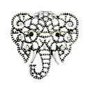 billige Smykke Sett-Dame Kubisk Zirkonium Nåler - Elefant damer, Stilfull, Grunnleggende Brosje Smykker Sølv Til Gave / Daglig