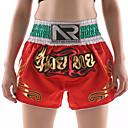 preiswerte Boxhandschuhe-Muay Thai Shorts / Boxershorts Für Kampfkunst, Grappling, UFC Elastischer Bund Stickerei Leicht, Rasche Trocknung, tragbar Polyester Erwachsene / Kinder - Purpur / Rot / Rosa