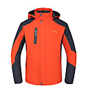 cheap Softshell, Fleece & Hiking Jackets-Deshengren® Men's Hiking Jacket Hiking 3-in-1 Jackets Outdoor Winter Waterproof Thermal / Warm Windproof Breathable Winter Jacket Top Skiing Camping / Hiking Hunting Red / Green / Blue Camping