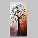 baratos Pinturas Pessoas-Pintura a Óleo Pintados à mão - Abstrato / Floral / Botânico Modern Tela de pintura