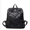 povoljno Školske torbe-Žene Torbe Poliester ruksak Patent-zatvarač Crn