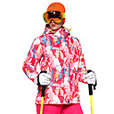 tanie Odzież narciarska i snowboardowa-Damskie Kurtka narciarska Ciepły, Wentylacja, Wiatroodporna Narciarstwo / Multisport / Sporty zimowe Poliester Kurtki puchowe Odzież