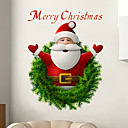 cheap Wall Stickers-Decorative Wall Stickers - Holiday Wall Stickers Christmas Decorations Living Room / Bedroom / Bathroom