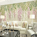cheap Wall Murals-Wallpaper / Mural Canvas Wall Covering - Adhesive required Painting / Art Deco / 3D