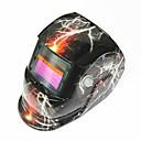 povoljno Sigurnost-grom uzorak solarna automatska fotoelektrična maska za zavarivanje