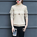 preiswerte Kigurumi Pyjamas-Damen Solide - Grundlegend / Street Schick T-shirt Spitze / Ausgeschnitten / Rüsche