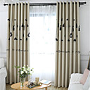 abordables Cortinas de lujo-Blackout cortinas cortinas Dormitorio Caricatura 100% Poliéster Impreso