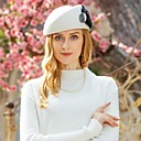 cheap Historical & Vintage Costumes-100% Wool Kentucky Derby Hat / Hats with Feather 1pc Casual / Daily Wear Headpiece