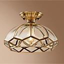 preiswerte Einbauleuchten-cuenco Unterputz Raumbeleuchtung Messing Metall Glas Kreativ 110-120V / 220-240V Wärm Weiß