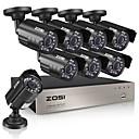رخيصةأون مجموعات DVR-zosi® 8ch hd-tvi 720p dvr المدمج في 1 تيرا بايت hdd مع 8 قطع hd 1280tvl مانعة لتسرب الماء كاميرات cctv