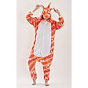 abordables Pijamas Kigurumi-Adulto Pijamas Kigurumi Unicorn Animé Pijamas de una pieza fibra de poliéster Arco Iris Cosplay por Hombre y mujer Ropa de Noche de los Animales Dibujos animados Festival / Celebración Disfraces