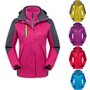 cheap Softshell, Fleece & Hiking Jackets-Women's Hiking Jacket Outdoor Winter Windproof, Rain-Proof, Waterproof Zipper Top Double Sliders / Single Slider Skiing, Camping / Hiking, Climbing