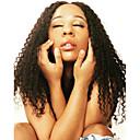 abordables Muñecas-Peluca Pelo Natural Remy 360 frontal Cabello Brasileño Kinky Curly Natural Partida profunda Mujer Densidad 150% 180% con pelo de bebe Mejor calidad Gran venta Grueso Actualizar Larga Negro Natural