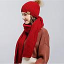 abordables Lámparas Colgantes-Mujer Sombrero Floppy - Básico Un Color