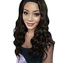 olcso Szintetikus csipke parókák-Emberi haj Tüll homlokrész Csipke eleje Paróka Perui haj Hullámos haj Paróka 130% Haj denzitás baba hajjal Természetes hajszálvonal Fekete hölgyeknek Női Rövid Közepes Hosszú Emberi hajból készült