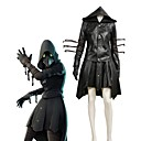 cheap Zentai Suits-Inspired by Cosplay Cosplay / Plague Doctor Anime Cosplay Costumes Cosplay Suits Painting / Other Long Sleeve Other / Coat / Skirt For Men and Women