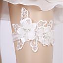 billige Strømpebånd til bryllup-Melkefiber Bryllup Bryllupsklær Med Skerfer / Bånd / Blomst / Strikk Strømpebånd Bryllup