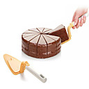 رخيصةأون صواني الخبز-موس كعكة مجرفة دفع الجبن المعجنات أدوات المطبخ مكشطة DIY الخبز