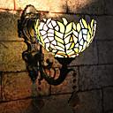 abordables Luces de Tocador-Creativo / Encantador Tiffany / Retro / Vintage Lámparas de pared / Iluminación de baño Dormitorio / Interior Resina Luz de pared 110-120V / 220-240V 25 W