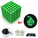 cheap Models & Model Kits-216 pcs 3mm Magnet Toy Magnetic Balls Magnet Toy Super Strong Rare-Earth Magnets Magnetic Glow-in-the-dark Stress and Anxiety Relief Office Desk Toys Relieves ADD, ADHD, Anxiety, Autism Novelty