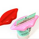 זול גאדג'טים לאמבט-2pcs / bag סקסי חם שפתון נשיקה אמבטיה צינורית מתקן משחת שיניים קרם סחיטה בית שפופרת מתגלגל מחזיק סחיטה