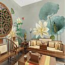 abordables Murales-papel pintado / Mural Lona Revestimiento de pared - adhesiva requerida Floral / Patrón / 3D