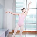 voordelige Balletkleding-Ballet Gympakken Dames Opleiding / Prestatie Elastaan / Lycra Ruche Mouwloos Gympak / Onesie