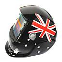 povoljno Motorističke maske za lice-britanska zastava uzorak solarna automatska fotoelektrična maska za zavarivanje