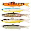 お買い得  ルアー/フライ-5 pcs ルアー ソフトベイト リード プラスチック 使いやすい フローティング 海釣り フライフィッシング ベイトキャスティング / 穴釣り / スピニング / ジギング / 川釣り / 鯉釣り