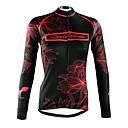 cheap Cycling Jerseys-ILPALADINO Women's Long Sleeve Cycling Jersey - Black Fashion Bike Top Winter, Elastane