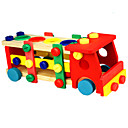cheap Wooden Puzzles-Wooden Puzzle Truck Stress and Anxiety Relief Compact Design Wooden / Bamboo 1 pcs Toddler Preschool All Toy Gift