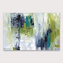 abordables Ropa para Perro-Pintura al óleo pintada a colgar Pintada a mano - Abstracto Modern Incluir marco interior / Lona ajustada