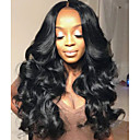 cheap Human Hair Wigs-Human Hair Glueless Full Lace Glueless Lace Front Full Lace Wig Brazilian Hair Body Wave Wig 130% 150% 180% Density with Baby Hair Natural Hairline African American Wig 100% Hand Tied Women's Short
