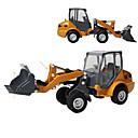 billige Toy Trucks & Construction Vehicles-Lekebiler Gaffeltruck Kjøretøy Gaffeltruck By Utsikt Kul utsøkt Metall Teenager Alle Gutt Jente Leketøy Gave 1 pcs