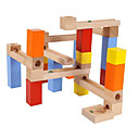 cheap Magnet Toys-Building Blocks Marble Run Race Construction Marble Run 30 pcs Creative Simulation Hand-made All Toy Gift