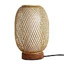 tanie Lampy stołowe-Nowoczesny Dekoracyjna Lampa stołowa Na Sypialnia Drewno / Bambus 220-240V