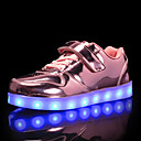 voordelige Meisjesschoenen-Jongens / Meisjes Schoenen Synthetisch Herfst winter Oplichtende schoenen Sneakers LED voor Kinderen / Tiener Goud / Zilver / Roze