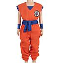 halpa Anime-asut-Innoittamana Dragon Ball Son Goku Anime Cosplay-asut Cosplay Puvut Kirjain N / A / Toppi / Housut Käyttötarkoitus Poikien / Tyttöjen
