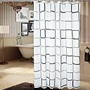 preiswerte Duschvorhänge-Duschvorhänge & Ringe Moderne 100g / m2 Polyester gestricktes Stretch Maschinell gefertigt Niedlich