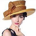 povoljno Movie & TV Theme Costumes-Elizabeta Čudesna gđa. Maisel Žene Odrasli dame Retro / vintage Klobučevine Kentucky Derby Hat šešir Zlatan Mašna Šeširi Lolita Pribor