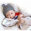 preiswerte Lebensechte Puppe-NPKCOLLECTION NPK-PUPPE Lebensechte Puppe Baby Jungen 18 Zoll Ganzkörper Silikon Vinyl - Neugeborenes Geschenk Niedlich Kinder Jungen Spielzeuge Geschenk