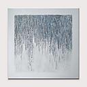halpa Abstraktit maalaukset-Hang-Painted öljymaalaus Maalattu - Abstrakti Ihmiset Klassinen Moderni Ilman Inner Frame / Valssatut kankaat