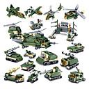 povoljno Building Blocks-Kocke za slaganje Građevinski set igračke Poučna igračka 16 pcs kompatibilan Legoing Ručno izrađeni Interakcija roditelja i djece Helikopter Sve Dječaci Djevojčice Igračke za kućne ljubimce Poklon