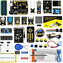 billige Moduler-keyestudio super starter kit / learning kit (uno r3) til arduino starter kit med 32 projekter 1602 lcd