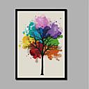 povoljno Apstraktno slikarstvo-Print Stretched Canvas Prints - Božić Moderna Comtemporary Moderna