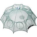 povoljno Ribolovne mreže-Sklopivi kišobran Ribolov rakova Štit za račiće Net 0.65 m Najlon 3*3 mm Prijenosno Jednostavan za korištenje