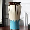 abordables Fleur artificielles-Vases et panier Irrégulier Céramique Artistique Classique / Vase unique