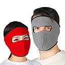 cheap Balaclavas & Face Masks-Pollution Protection Mask Solid Color Thermal / Warm UV Resistant Moisture Wicking Soft Bike / Cycling Dark Gray Camouflage Burgundy Polyester Winter for Men's Women's Adults' Outdoor Exercise
