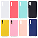 cheap Cellphone Case-Case For Huawei P20 / P20 Pro Frosted Back Cover Solid Colored Soft TPU for Huawei Nova 3i / Huawei P20 / Huawei P20 Pro